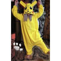 Kigurumi Pijama Polar O Plush Enteros Pikachu - Pokemon