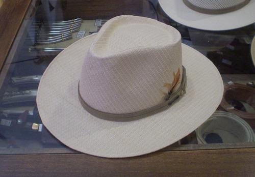 Sombrero Australiano Lagomarsino Algodón Y Rafia -   849 en Melinterest d4120486e6d