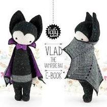 Patrón Lalylala Murciélago - Amigurumi- Crochet - En Español