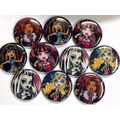 Lote X 12 Pins Prenderdores De Monster High 4,5 Cm