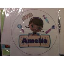 Lamina Comestible Personalizada Fototorta Doctora Juguetes