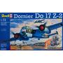 Dornier Do 17 Z2 Maqueta Bombardero Alemán Segunda Guerra