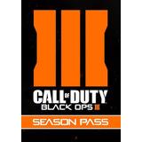 Call Of Duty Black Ops 3 Season Pass Juego Original Steam Pc