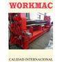 Roladora Cnc 6x2500 Control Numerico Workmac
