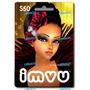 Tarjeta Imvu U$d50 Chat Juegos Avatar Crédito Vip *gamebots*
