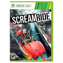 Screamride Xbox 360 Ntsc Nuevo Sellado Original