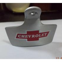 Destapador De Botellas De Pared Chevrolet