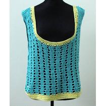 Chaleco Crochet De Colores - Envios