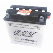 Bateria Nsu 12n9-4b-1 Rouser 200/220 Custom/cuatris Um!