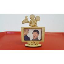 10 Porta Retratos Mikey 6x4 Mdf Fibrofacil Corte Laser