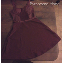 Phenomena Moda - Vestido Con Breteles Noche /coctel