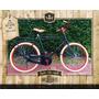 Bicicleta Hombre Retro Con Todos Los Accesorios Completa Ful
