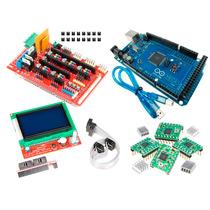 Kit 3d Arduino 2560 Display 128 X 64 Lcd Ramps 1.4 Pololu X4