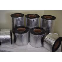 Membrana Autoadhesiva 10cm X 10 Mtrs Con Aluminio.// Scalise