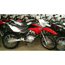 Jm-motors Honda Xr 150 Linea Nueva 2016 Color Rojo Y Blanco