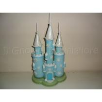 Castillo Frozen De Porcelana Fria - Adorno De Torta