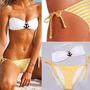 Traje De Baño Malla Bikini Marinero Pin Up Playa Ancla