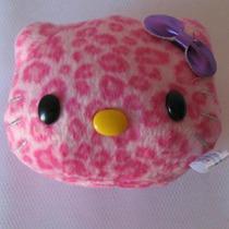 Adorables Peluchínes Caritas De Kitty Tipo Leopardo Ro Y Bla