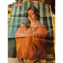 Poster Revista Antena Lolita Torres