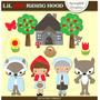 Kit Imprimible Caperucita Roja 13 Imagenes Clipart