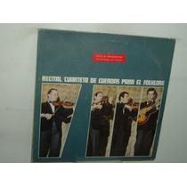 Cuarteto De Cuerdas Para El Folklore Recital Vinilo Arg Pro