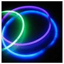 Collares Luminosos Quimicos X50 Tricolor Neon Cotillon