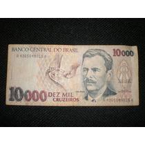Billete De 10000 Cruzeiros Serie A Brasil