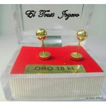 Aritos Abridores Oro 18k. Nº5 El Trust Joyero Garantia Escr