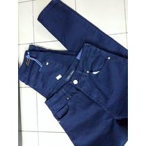 Jean Azul Bien Oscuro Tiro Alto Primera Marca