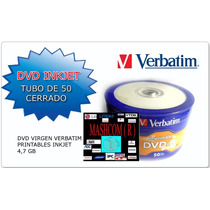 Dvd Virgen Verbatim Full Print X 50 (se Acepta Mercadopago)