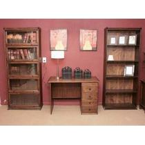 Biblioteca De Roble Tipo Thompson, 6 Modulos