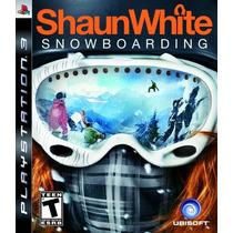 Shaunwhite Snowboarding Ps3 Nuevo Sellado Original