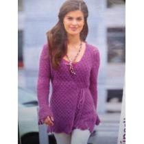 Sweater Tejido A Mano Al Crochet