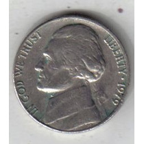 Estados Unidos Moneda De 5 Cents Año 1979 !!