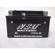 Bateria Nsu Ytx7a-bs Motos March