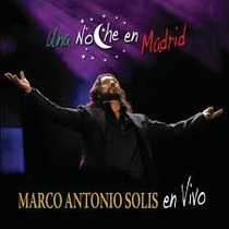Marco Antonio Solis Una Noche En Madrid Cd + Dvd Original Cl