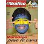 El Gráfico 4007 B- Maradona- Boca En China/ Miguel Clavero