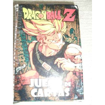 Naipes Cartas Dragon Ball Z Con 2 Juegos Souvenir Gabym