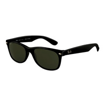 Lentes Ray Ban New Wayfarer 2132 Negros 52mm Medium