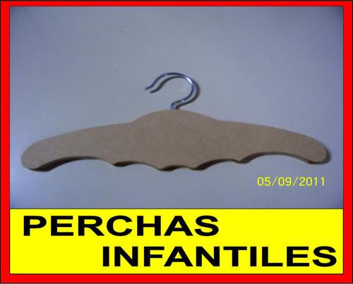 Perchas de madera infantiles bebe fibrofacil souvenirs - Perchas madera bebe ...