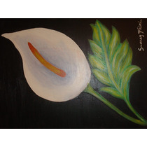 Pintura De Flor En Acrilico