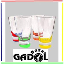 Vaso London Alto Con Pie De Color