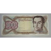 Venezuela Billete 100 Bolívares