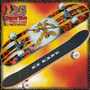 Skate Board Doble Cola Tabla Maple Canadiense Ez Life Ruedas