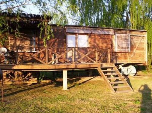 Construccion de caba as vagones bungalows alpinas troncos - Construccion de cabanas de madera ...