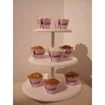 Bandeja/torre Porta Cupcakes/cookies Zona Norte Imperdibles!