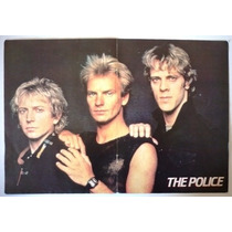 The Police Sting Poster Color