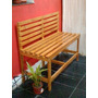 Banco Madera Ideal Para Patio - Jardin - Balcon