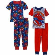 Pijama El Hombre Araña De Algodon Talle 5 Años