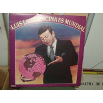 Luis Landriscina Es Mundial Vinilo Argentino Promo